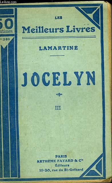 JOCELYN - TOME 3