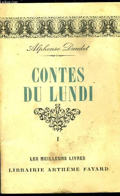CONTES DU LUNDI - TOME 1