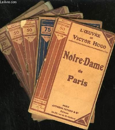 NOTRE DAME DE PARIS - N° 11 à 15