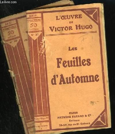 LES FEUILLES D'AUTOMNE - N° 29 et 30