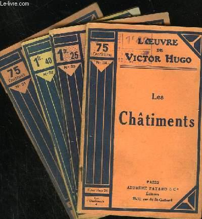 LES CHATIMENTS - N° 31 à 34