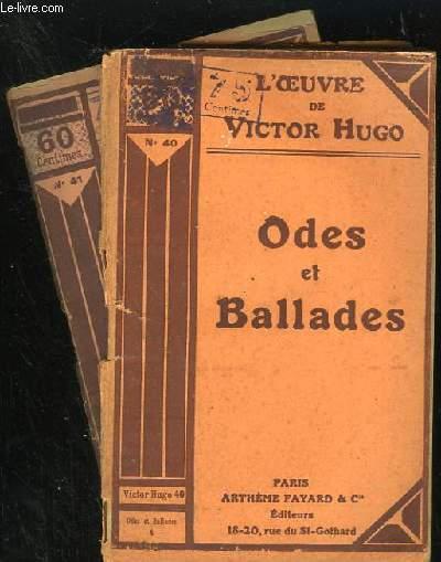 ODES ET BALLADES - N° 40 et 41