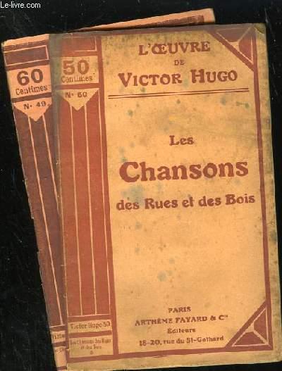LES CHANSONS DES RUES ET DES BOIS - n° 49 et 50