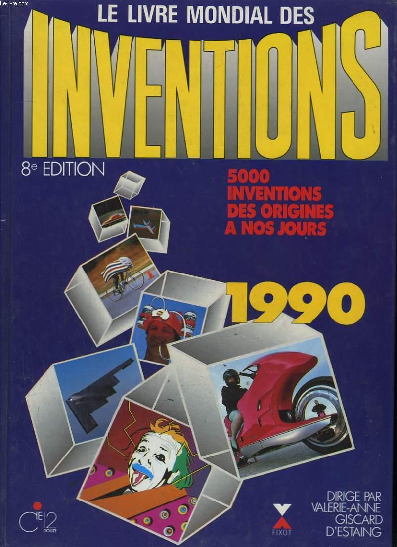 LE LIVRE MONDIAL DES INVENTIONS. 1990.