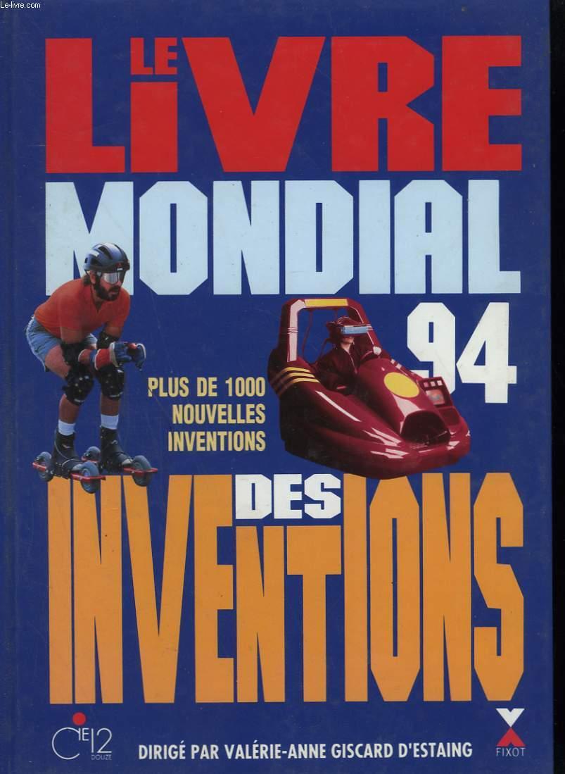 LE LIVRE MONDIAL DES INVENTIONS. 1994.