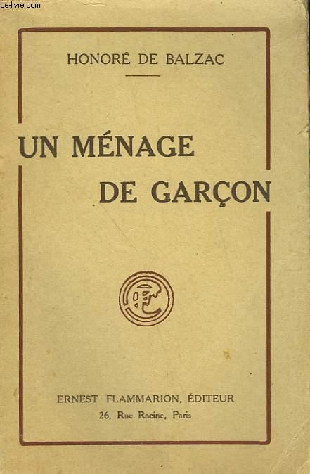 UN MENAGE DE GARCON.