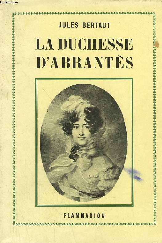 LA DUCHESSE D'ABRANTES.