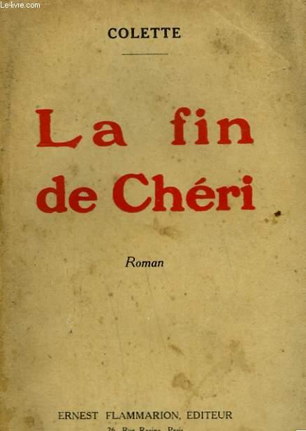 LA FIN DE CHERI.