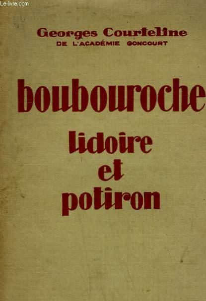BOUBOUROCHE. LIDOIRE ET POTIRON.