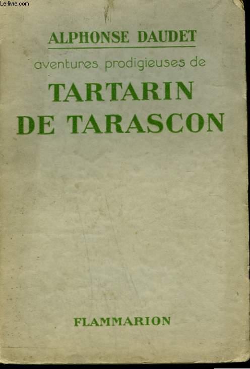 AVENTURES PRODIGIEUSES DE TARTARIN DE TARASCON.