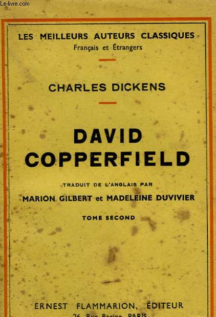 DAVID COPPERFIELD. TOME 2.