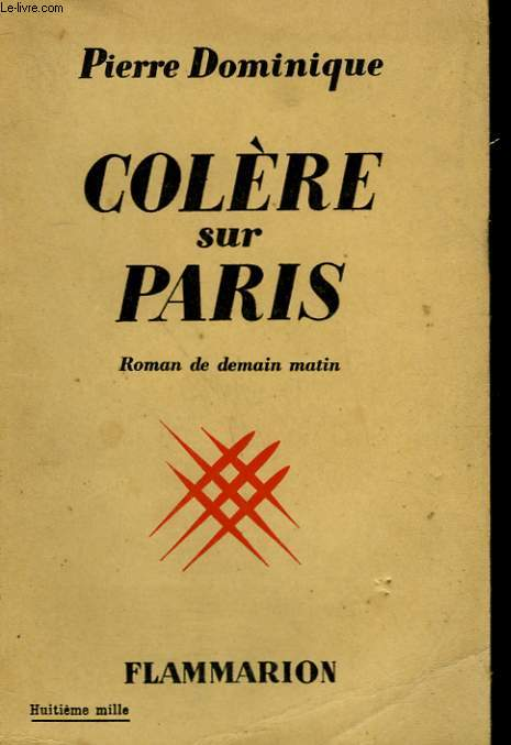 COLERE SUR PARIS.