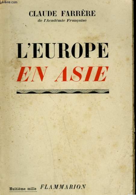 L'EUROPE EN ASIE.