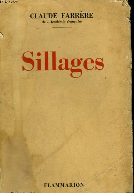 SILLAGES.
