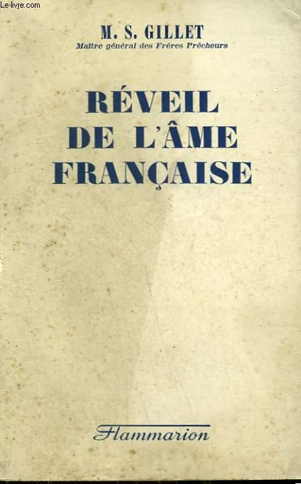 REVEIL DE L'AME FRANCAISE.