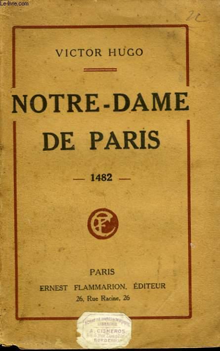 NOTRE DAME DE PARIS. 1482.