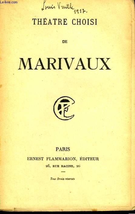 THEATRE CHOISI DE MARIVAUX.