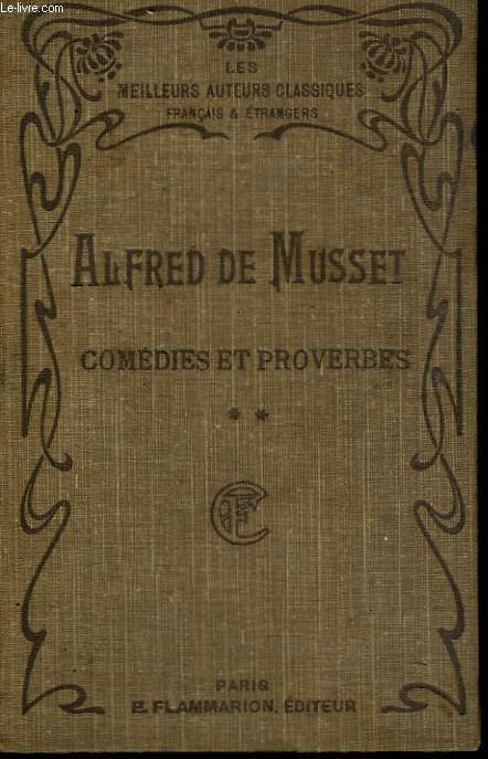 COMEDIES ET PROVERBES. TOME 2.