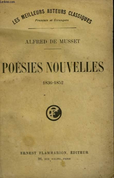POESIES NOUVELLES. 1836-1852.