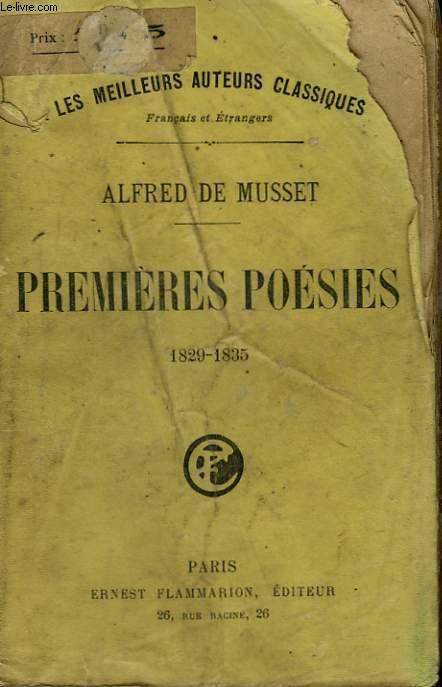 PREMIERES POESIES. 1829 -1835.