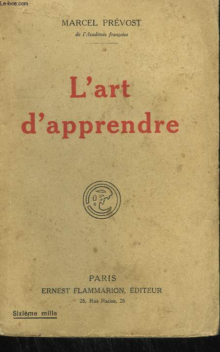 L'ART D'APPRENDRE.