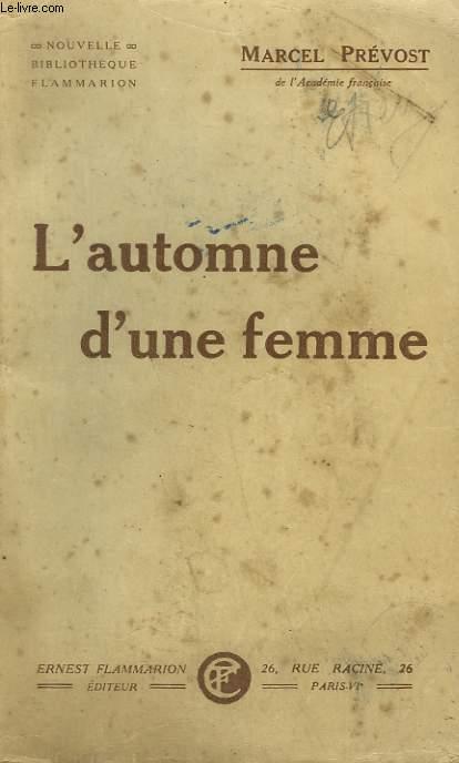 L'AUTOMNE D'UNE FEMME.
