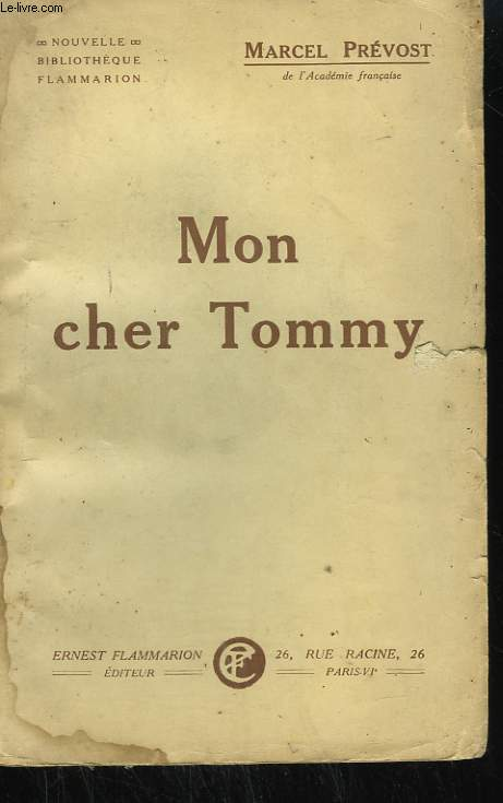 MON CHER TOMMY.