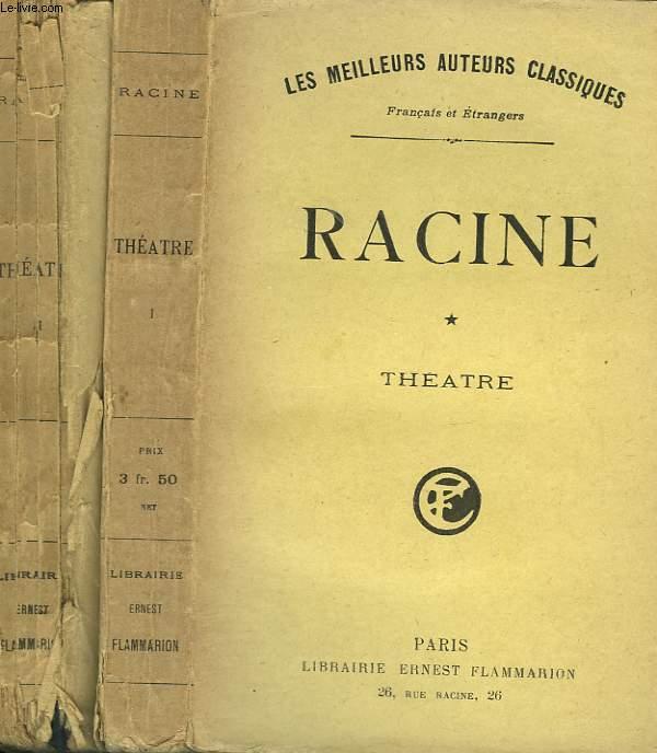THEATRE COMPLET DE J. RACINE. EN 2 TOMES.