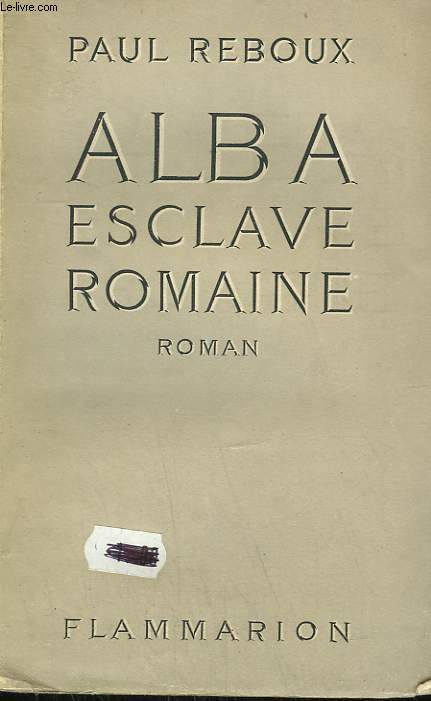 ALBA ESCLAVE ROMAINE.