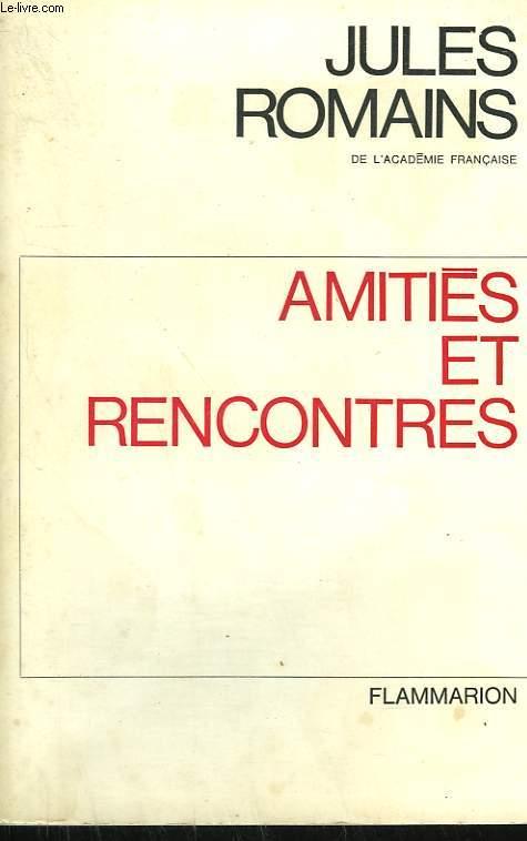 AMITIES ET RENCONTRES.