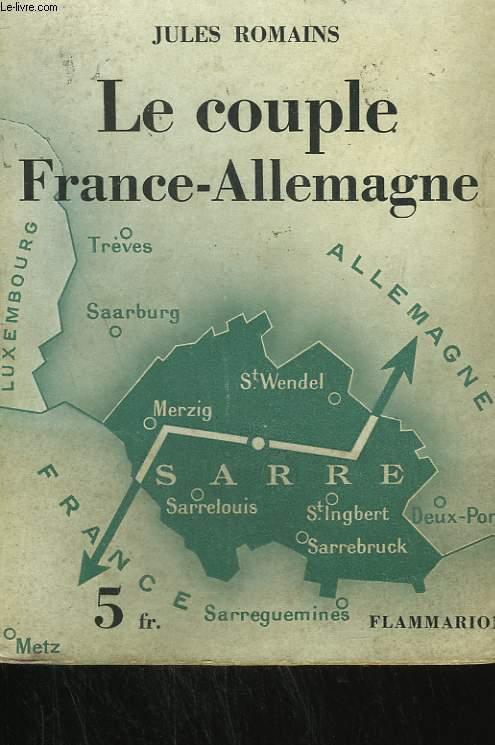 LE COUPLE FRANCE-ALLEMAGNE.