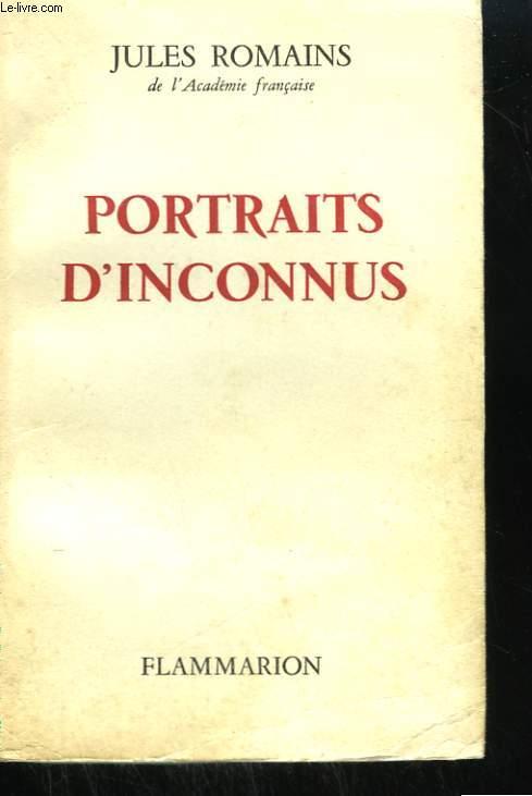 PORTRAITS D'INCONNUS.