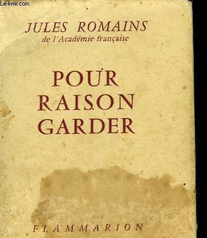 POUR RAISON GARDER.