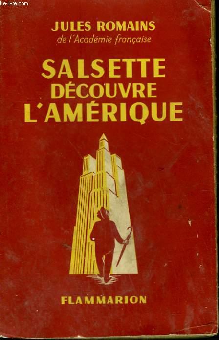 SALSETTE DECOUVRE L'AMERIQUE.
