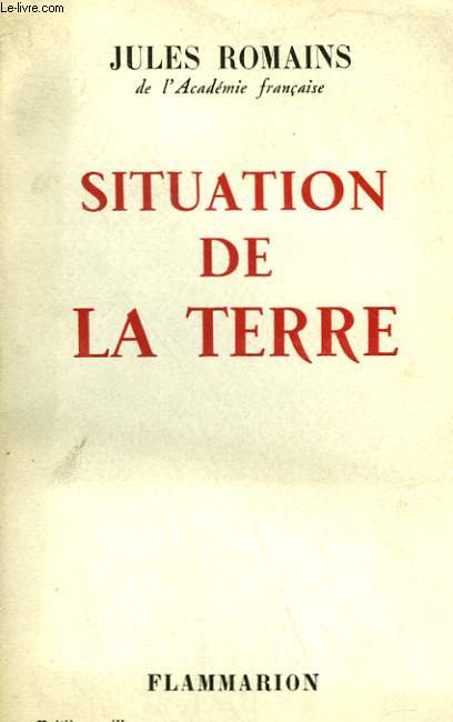 SITUATION DE LA TERRE.