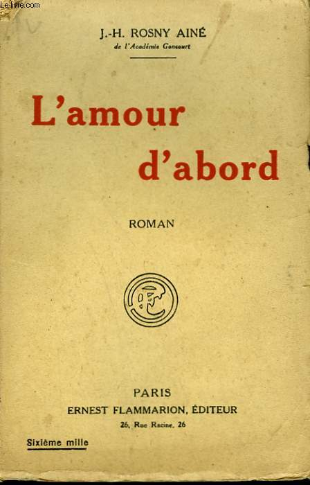 L'AMOUR D'ABORD.