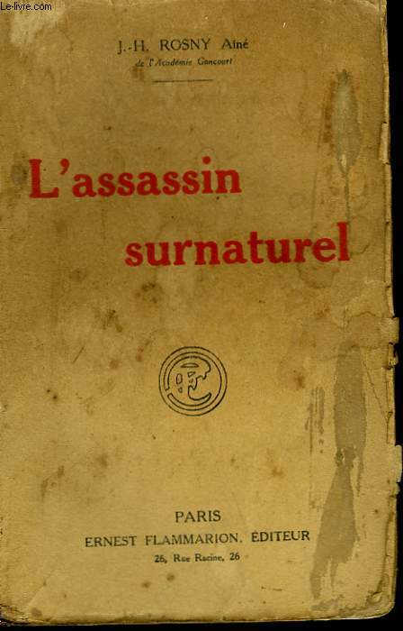 L'ASSASSIN SURNATUREL.