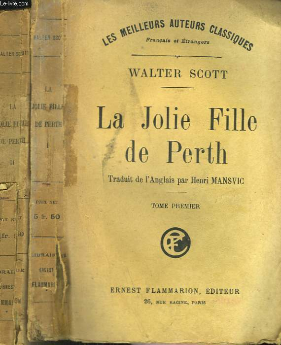 LA JOLIE FILLE DE PERTH. EN 2 TOMES.