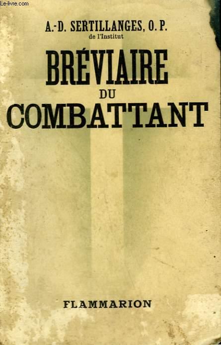 BREVIAIRE DU COMBATTANT.