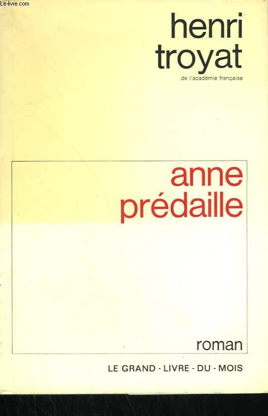 ANNE PREDAILLE.