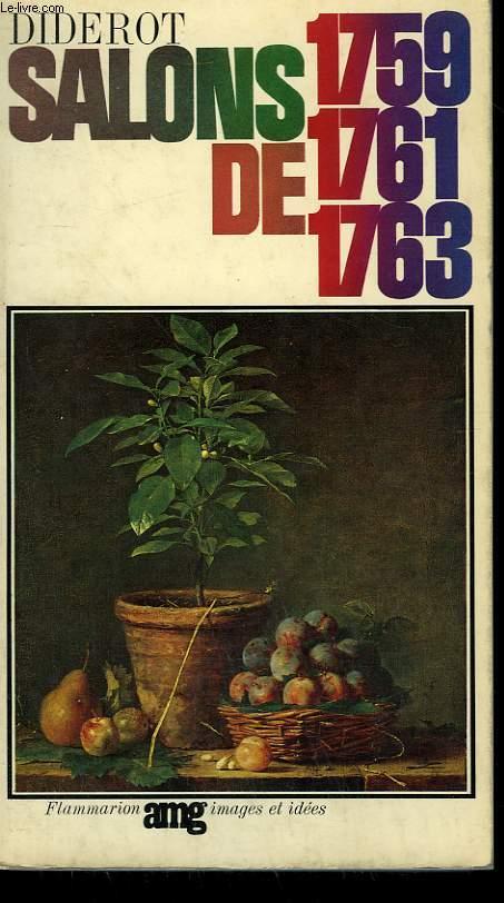 SALONS DE 1759 - 1761 - 1763.