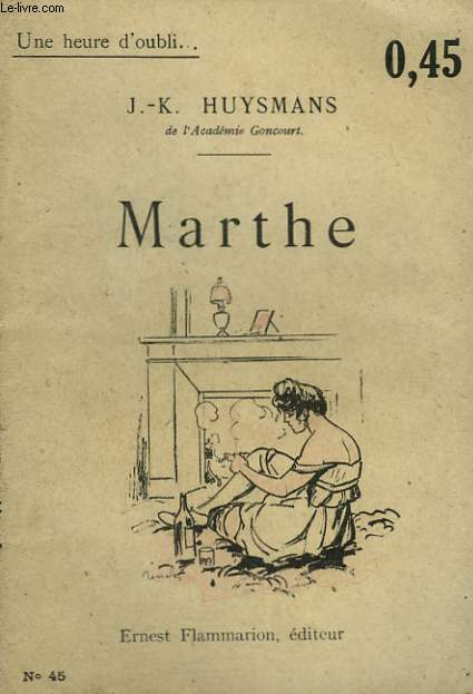 MARTHE. COLLECTION : UNE HEURE D'OUBLI N° 45