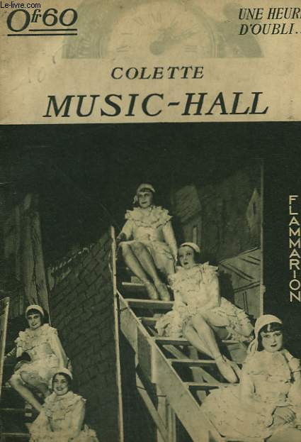 MUSIC - HALL. COLLECTION : UNE HEURE D'OUBLI.