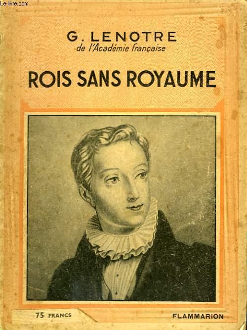 ROMANS SANS ROYAUME. COLLECTION : HIER ET AUJOURD'HUI.