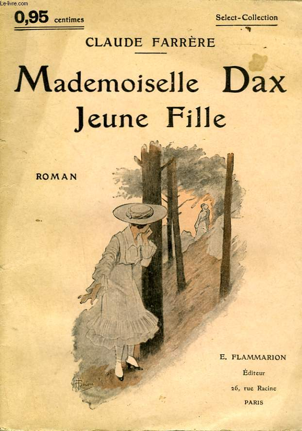 MADEMOISELLE DAX JEUNE FILLE. COLLECTION : SELECT COLLECTION N° 34