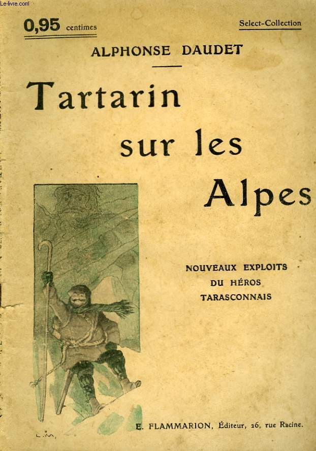 TARTARIN SUR LES ALPES. COLLECTION : SELECT COLLECTION N° 49