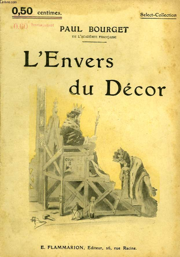 L'ENVERS DU DECOR. COLLECTION : SELECT COLLECTION N° 56