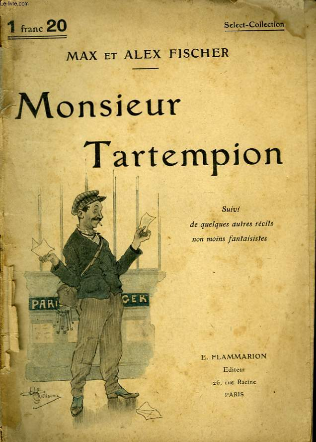 MONSIEUR TARTEMPION. COLLECTION : SELECT COLLECTION N° 88