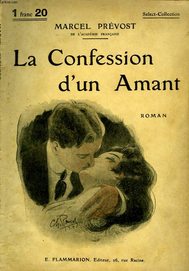 LA CONFESSION D'UN AMANT. COLLECTION : SELECT COLLECTION N° 89