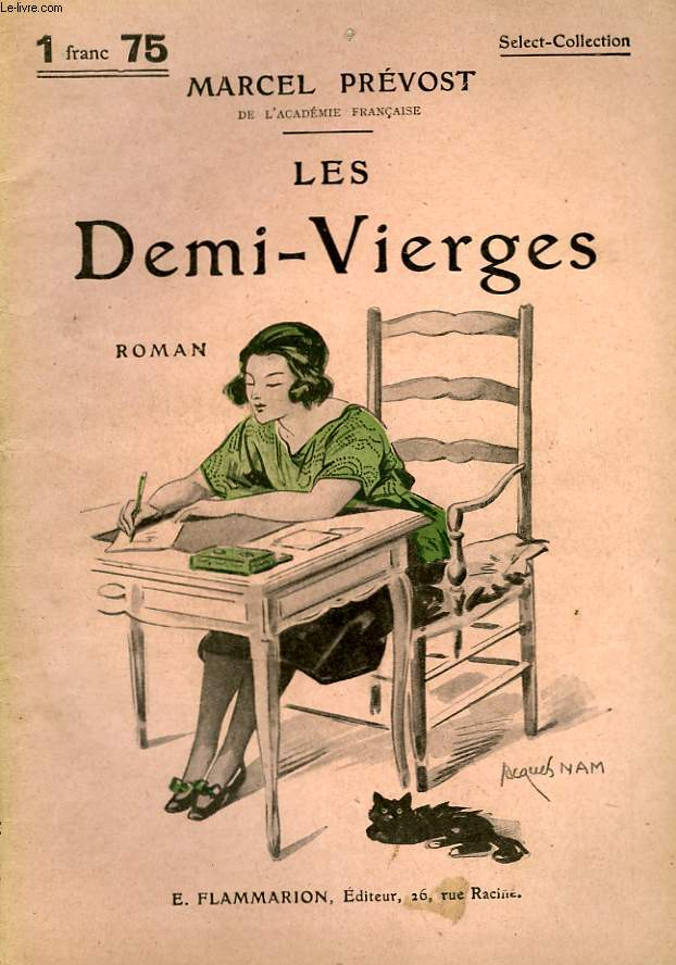 LES DEMI-VIERGES. COLLECTION : SELECT COLLECTION N° 106